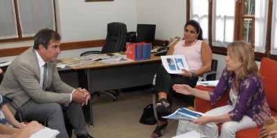 Ministros recibieron a referentes de Pan American Energy
