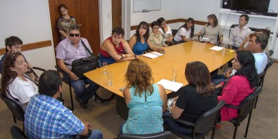 El gobierno recibió a asociaciones civiles para la discapacidad
