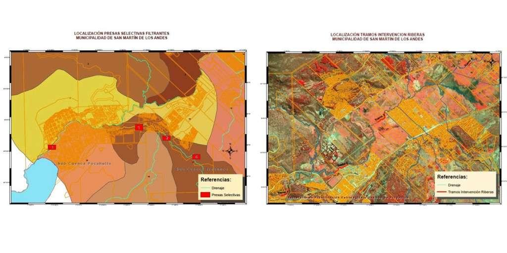 Planos de obras para San Martín de los Andes
