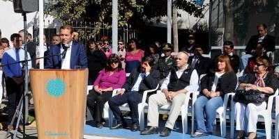 El gobernador Omar Gutiérrez destacó obras para Aluminé