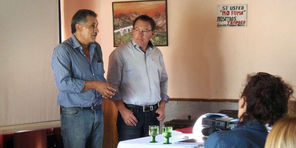 Del encuentro participaron funcionarios de localidades del Norte neuquino