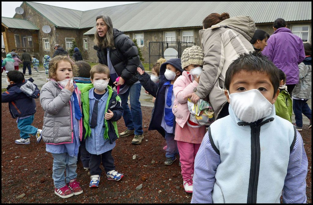 10-05-2016 Simulacro plan de evacuación volcan Copahue