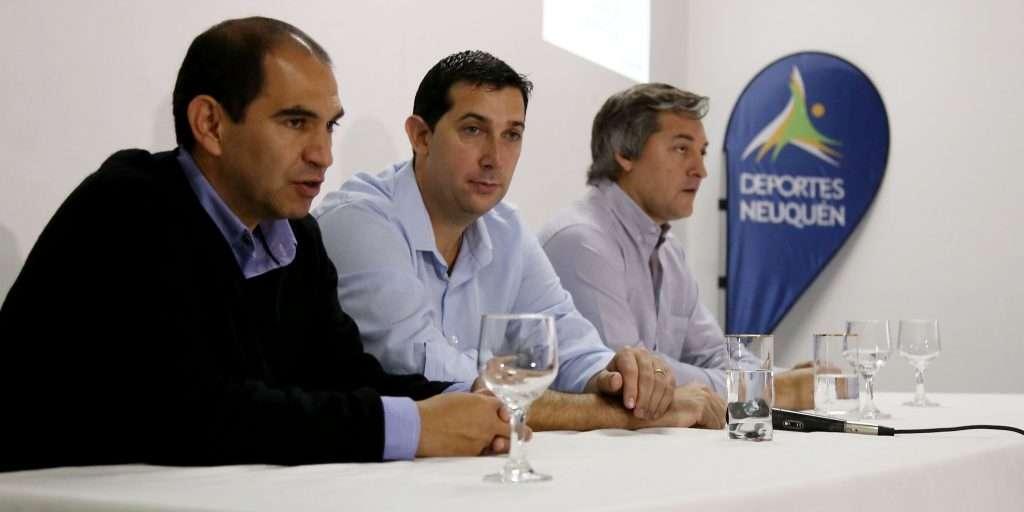 El subsecretario Luis Sánchez presentó el Plan de Deportes.