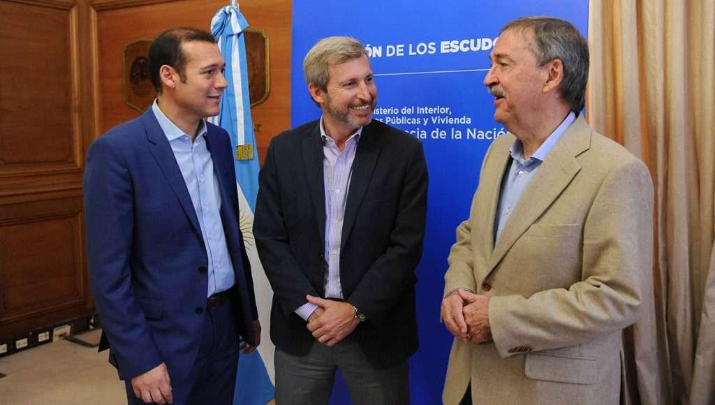"""El ministro Frigerio destacó que """"en Neuquén avanzamos en cumplir con lo que habíamos prometido""""."""