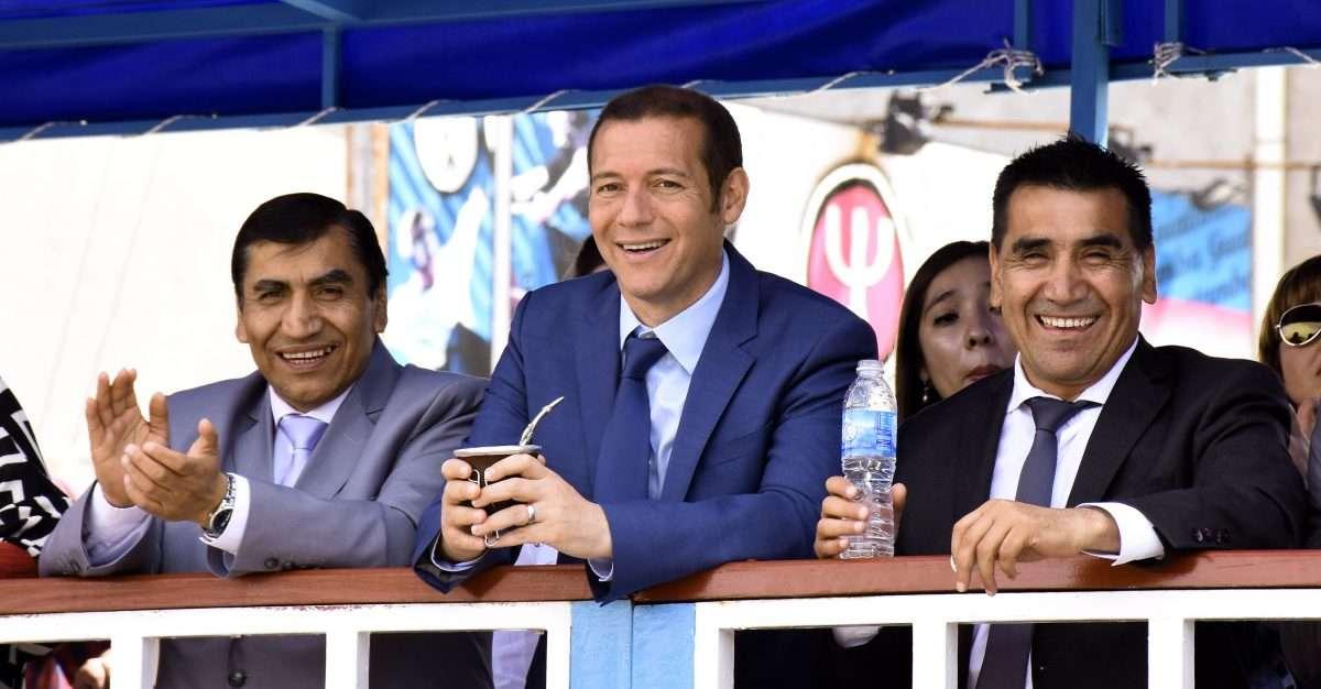 Gutiérrez presidió el acto por el 83º aniversario de Cutral Co