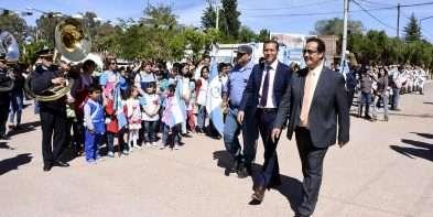 Añelo festejó su aniversario con la inauguración del Jardín de Infantes N° 52