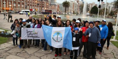 La delegación neuquina de deportistas viaja para competir en los Juegos Evita