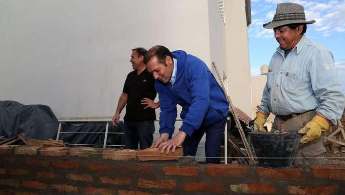 Gutiérrez volvió a las 127 hectáreas para dialogar con los vecinos