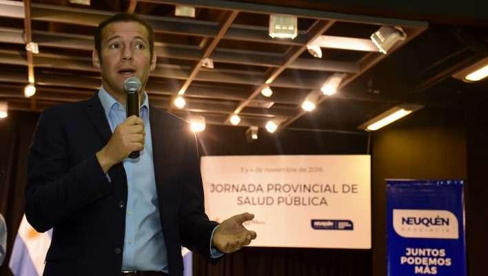 Apertura de la Jornada Provincial de Salud Pública.