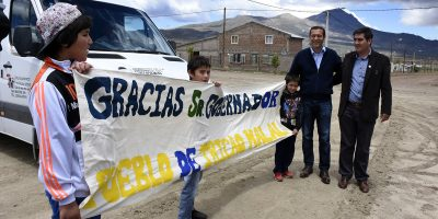 Gutiérrez visita la zona norte provincial