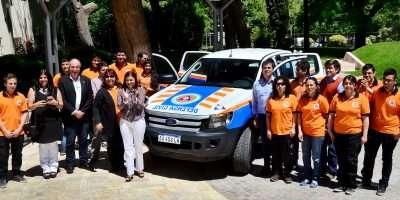 Defensa Civil cuenta con una nueva camioneta 4×4 para emergencias