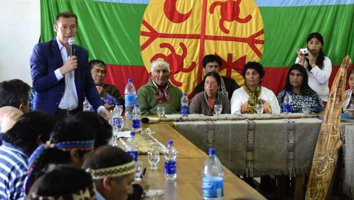 Encuentro con representantes de comunidades mapuche