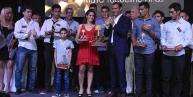 Gutiérrez ratificó su apoyo al deporte en la entrega de los Premios Pehuén