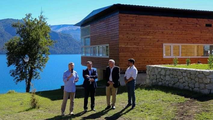 Se inauguró un centro de interpretación turística en Villa Traful