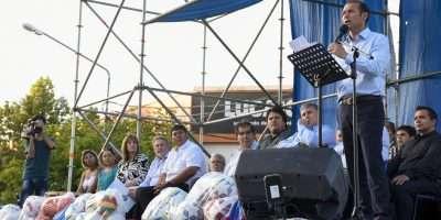 Rincón de los Sauces festejó con inauguraciones su 45° aniversario