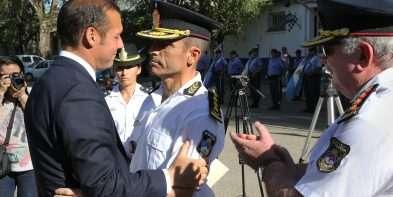 Gutiérrez puso en funciones a la nueva jefatura de la Policía