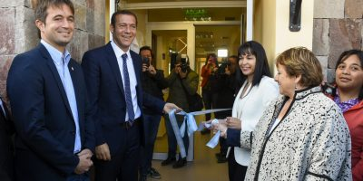 Gutiérrez inauguró un Registro Civil en San Martín de los Andes