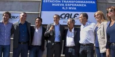 Gutiérrez inauguró la estación transformadora que abastecerá al PIN y al norte capitalino