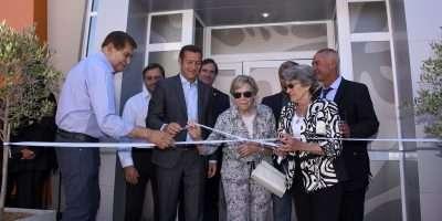 Gutiérrez asistió a la inauguración del primer instituto integral oncohematológico de la Patagonia