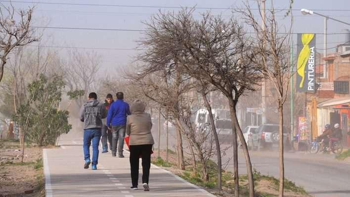 Emiten recomendaciones por fuertes vientos en la provincia