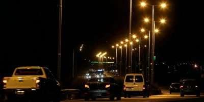 Se encuentra en funcionamiento la iluminación de la ruta 7 entre Neuquén y Centenario