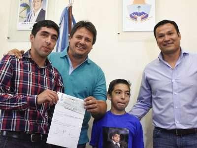 Aporte de 270 mil pesos para obras en la sede vecinal de Don Bosco II