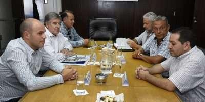Nicola se reunió con intendentes de la Confluencia por saneamiento de los ríos