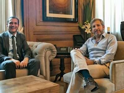El gobernador se reunió con el ministro Frigerio