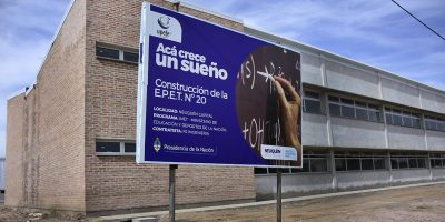 Recorrerán los avances del nuevo edificio de la EPET 20