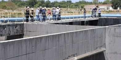 Nicola destacó el plan de obras de agua y saneamiento de la Provincia