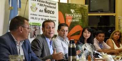Gutiérrez participó de la presentación de la Fiesta del Ñaco