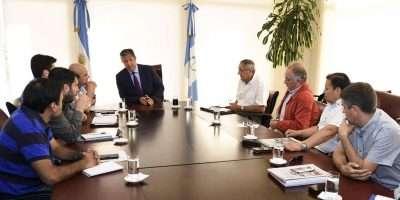 Nación y provincia coordinan acciones para disminuir el impacto de un año hídrico seco en la región