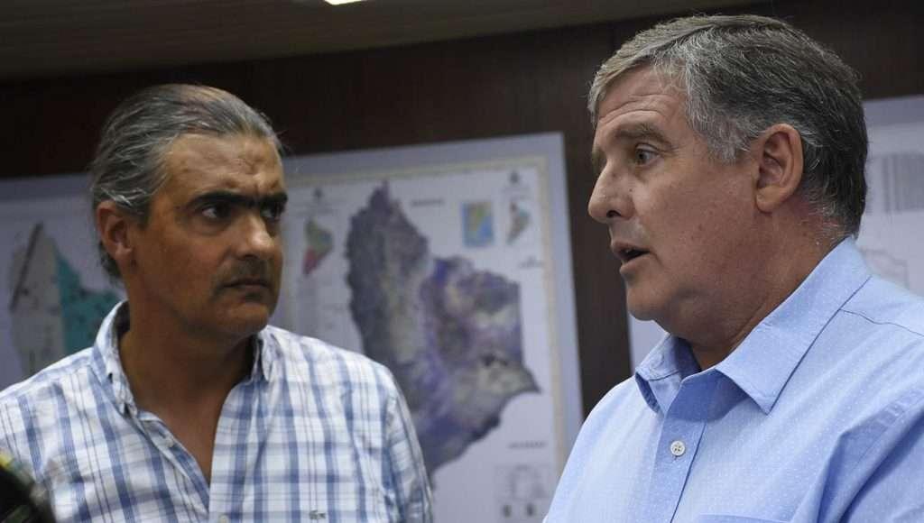 El ministro Carlos Valeri se reunió con su par neuquino, Alejandro Nicola El ministro Carlos Valeri se reunió con su par neuquino, Alejandro Nicola
