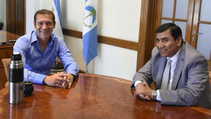 Gutiérrez se reunió con el intendente José Rioseco