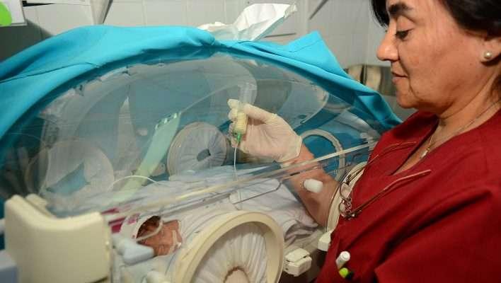 El hospital Heller también alimenta a bebés con leche humana pasteurizada