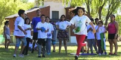 Hijos de afiliados al ISSN disfrutan de campamentos residenciales en Neuquén