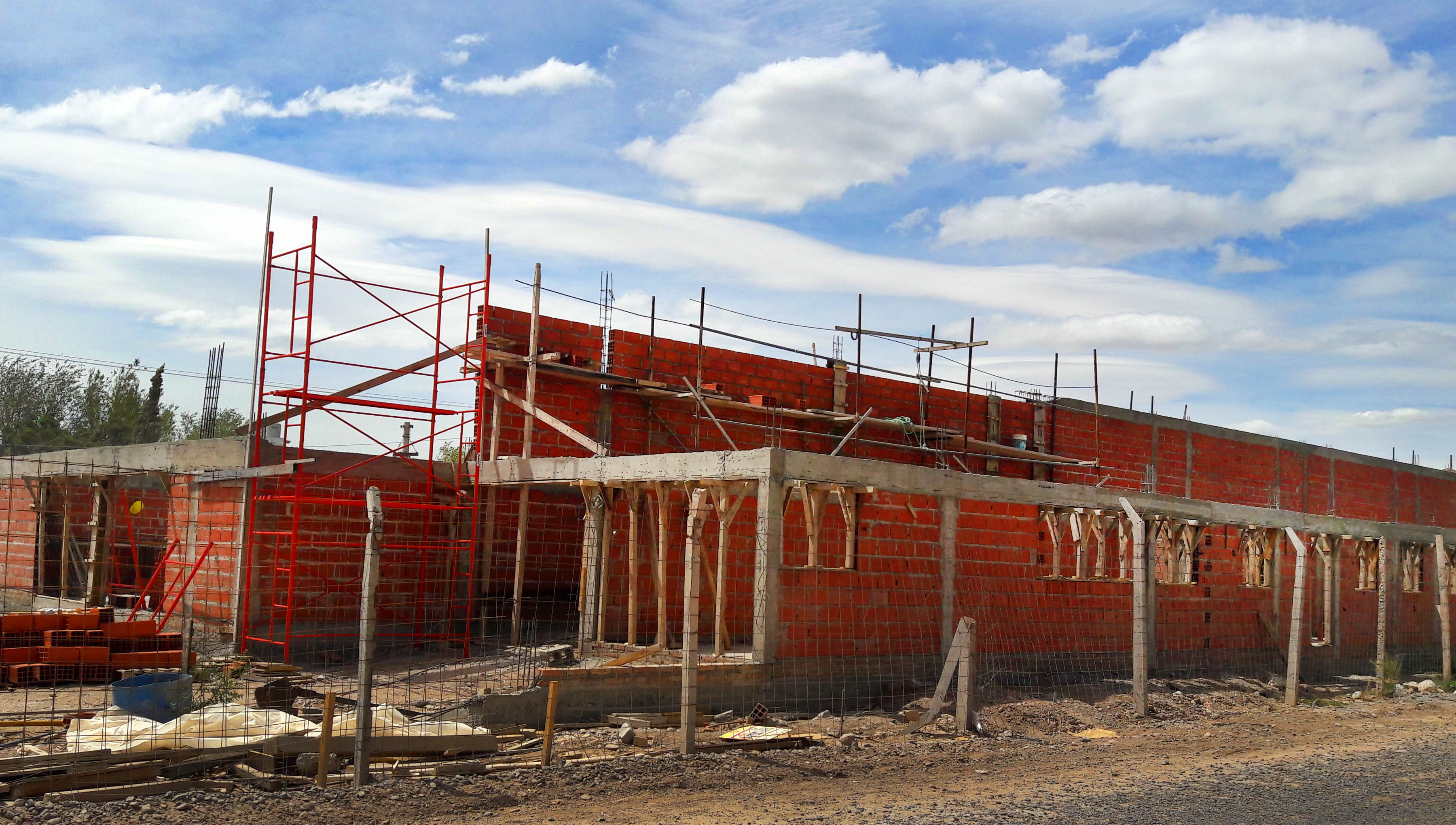 avanza el nuevo edificio del jard n de infantes 58 de