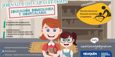 El CPE dará una capacitación en educación domiciliaria y hospitalaria