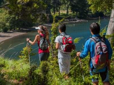 Productores apuestan al turismo en el perilago Nahuel Huapi
