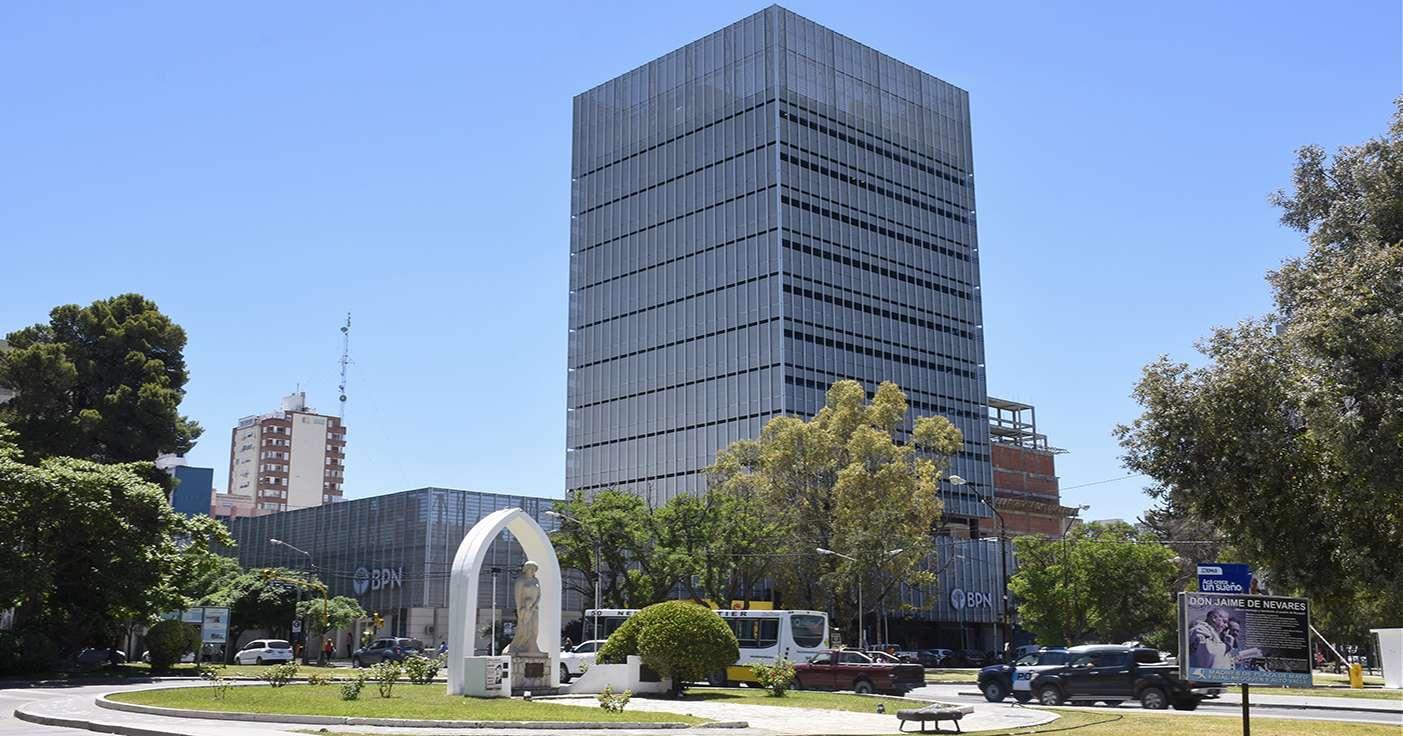 Resultado de imagen para Nueva Sede BPN, Av. Argentina y Parque Central, Neuquén),