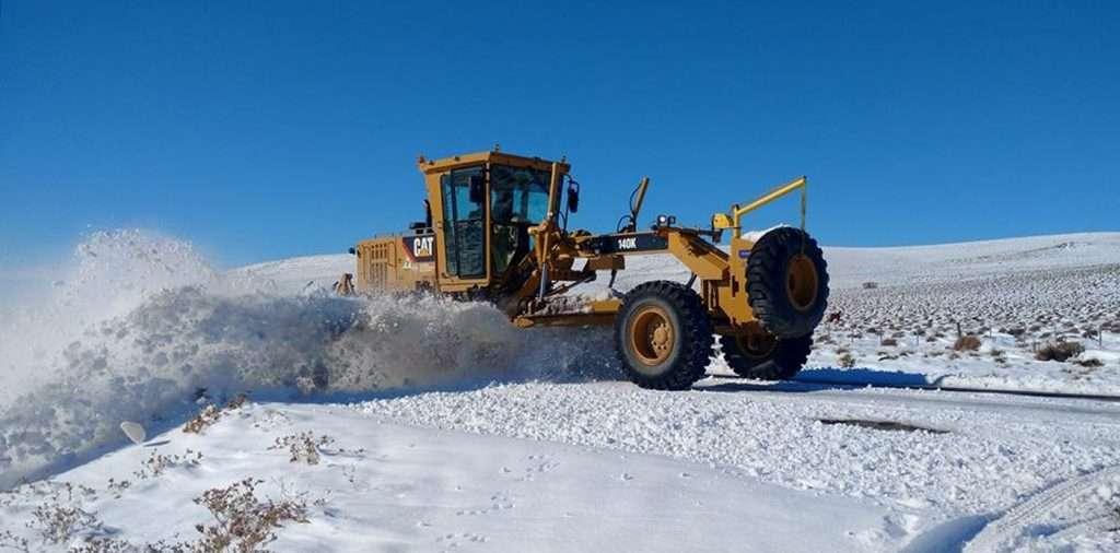 Resultado de imagen para Gobierno desplego grupos de apoyo por la nieve