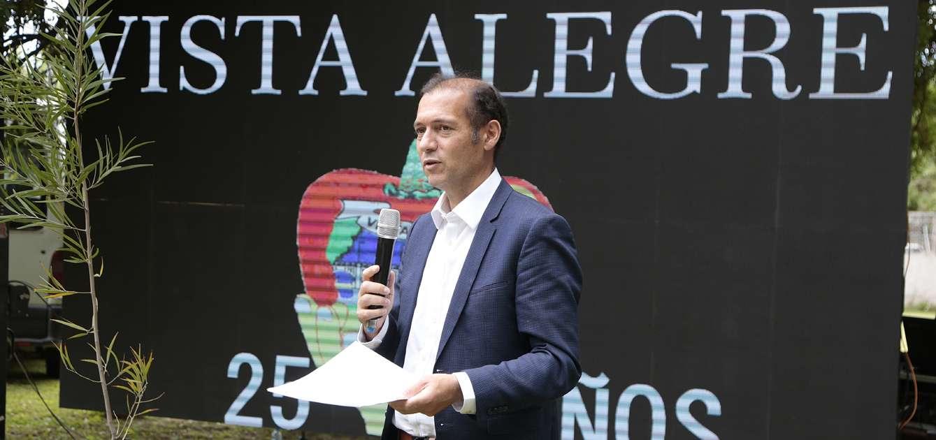 Gutiérrez destacó el perfil productivo y exportador de Vista Alegre