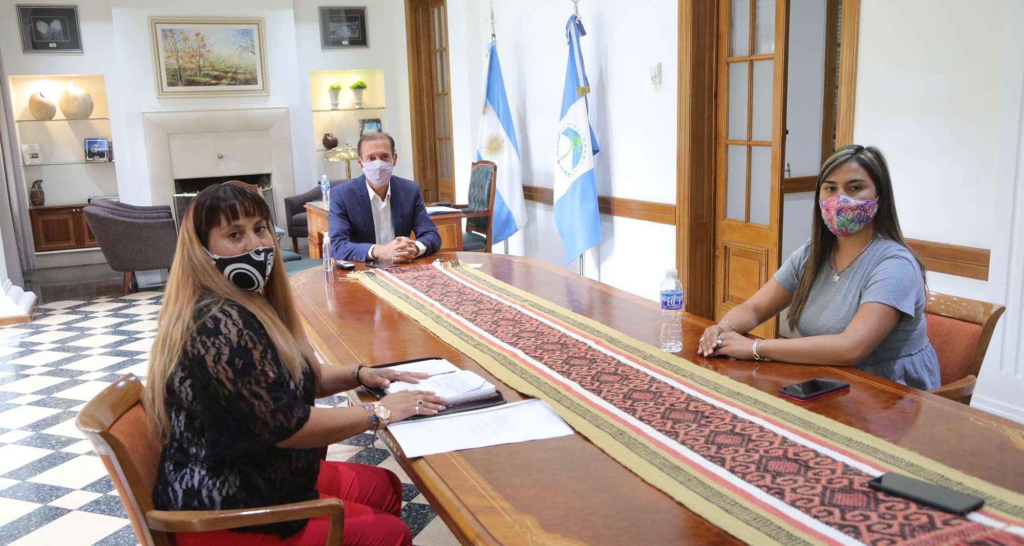 Gutiérrez evaluó obras y proyectos para el interior provincial