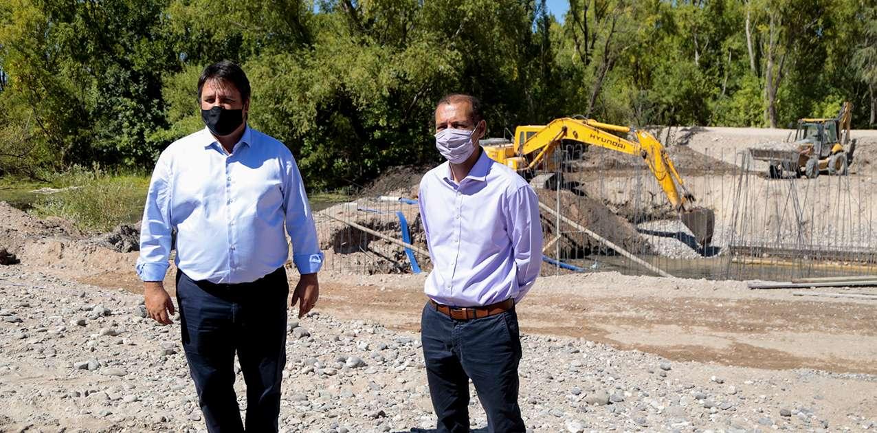 En Neuquén avanzan las obras del paseo costero del río Limay
