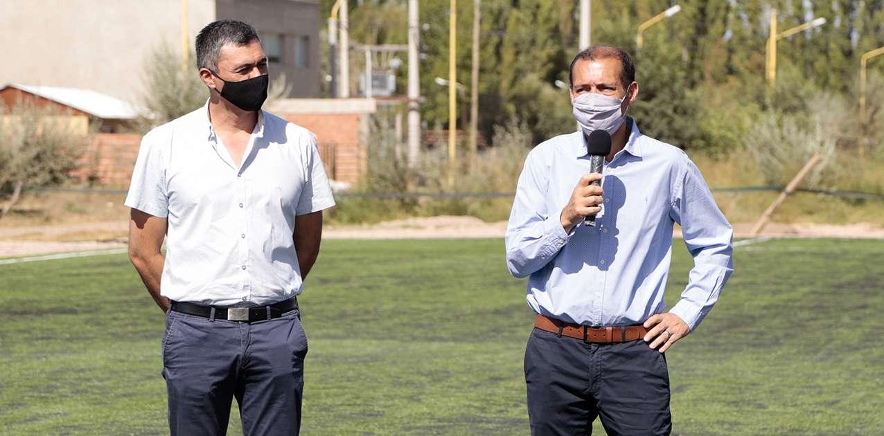 El gobernador Gutiérrez anunció obras para la capital de Vaca Muerta